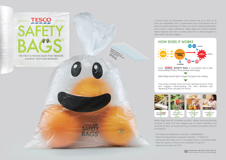 tesco safety bag